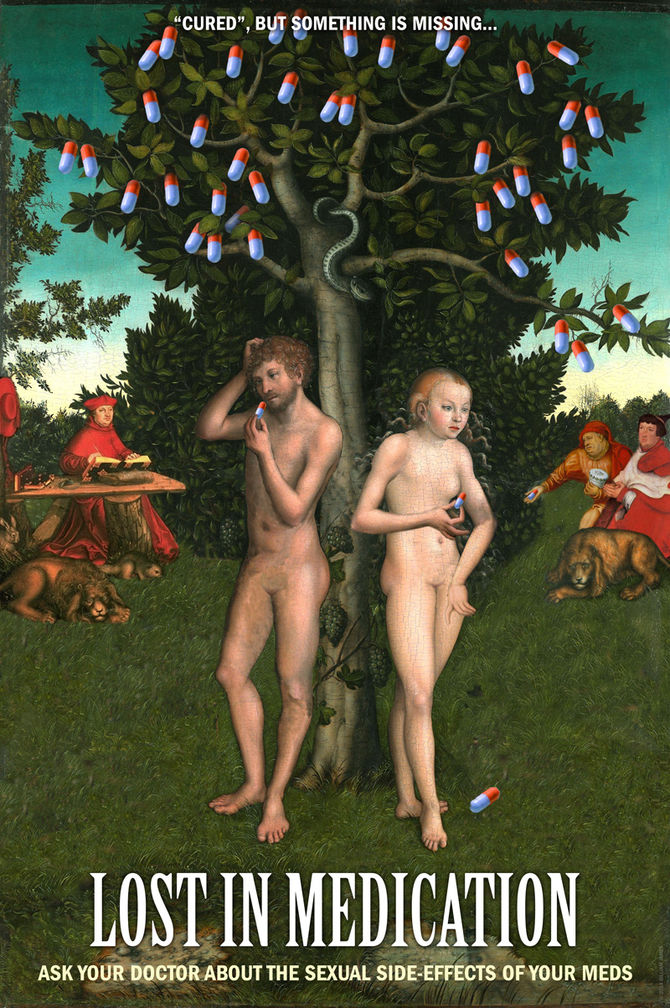 Adam and Eve on Prozac